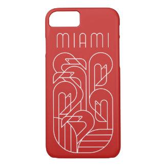 Miami-Flamingo-Weiß iPhone 8/7 Hülle