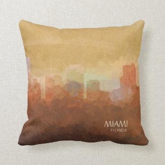 Miami, Florida Skyline-in den Wolken Kissen