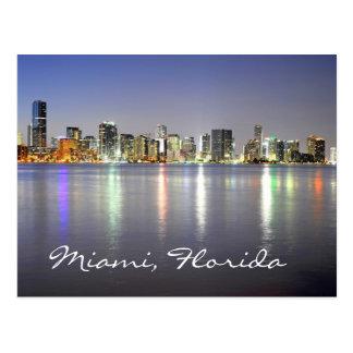Miami, Florida, USA Postkarte