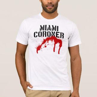 Miami-Metro Palladium-Untersuchungsrichter T-Shirt