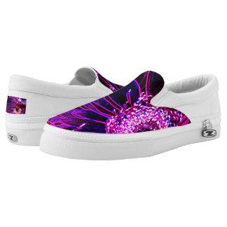 Miami-Neon-Blume Slip-On Sneaker