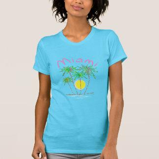 Miami-Palmensun-T-Shirt T-Shirt