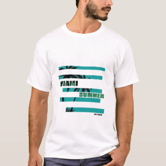 Miami-Sommer T - Shirt