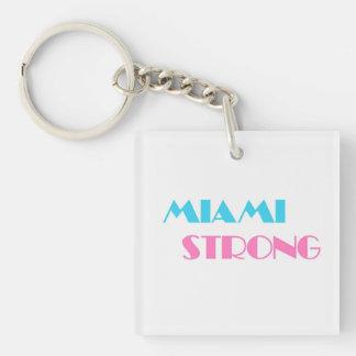 Miami starkes keychain schlüsselanhänger