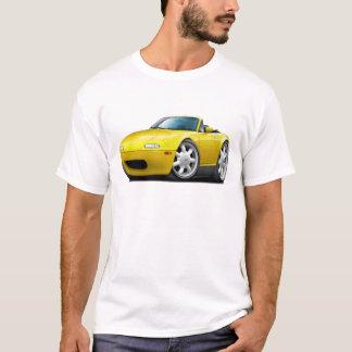 Miata gelbes Auto 1990-98 T-Shirt