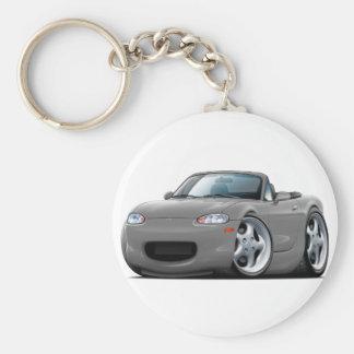 Miata Grau-Auto 1999-05 Schlüsselanhänger
