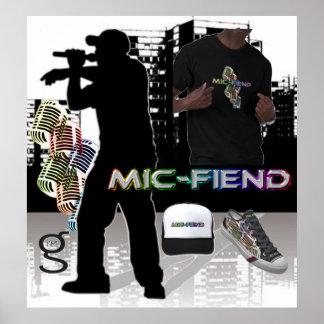 Mic-Unhold-angesagtes Hopfenplakat von bin- mir G- Poster