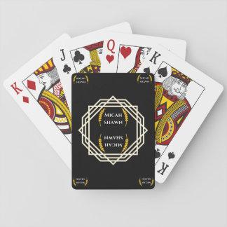 Micah Shawn Marken-Unterzeichnungs-Spielkarten Spielkarten