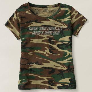 Mich nicht sehen kann die Tarnungs-T - Shirt der