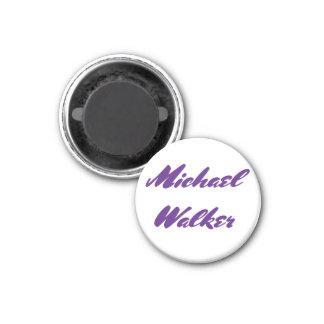 Michael-Wanderer gehöre ich ihr Runder Magnet 3,2 Cm