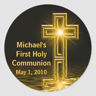 Michaels erste heilige Kommunions-Aufkleber
