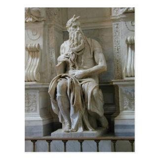 Michelangelo Moses Postkarte