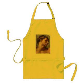 Michelangelo-Schaffung von Adam Schürze