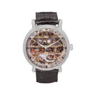 Michelangelo: Sistine Kapellen-Decke Armbanduhr