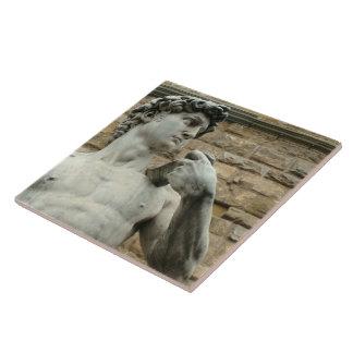 Michelangelos David 1 Keramikfliese