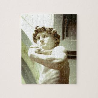 Michelangelos David - ein Puzzle