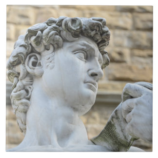 Michelangelos David, Florenz Italien Keramikfliese