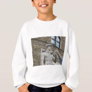 Michelangelos David, Florenz Italien Sweatshirt