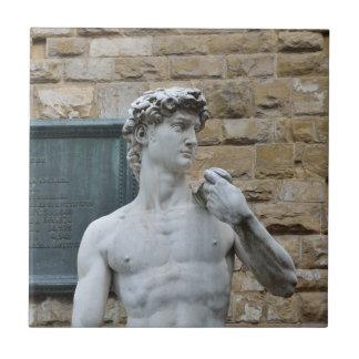 Michelangelos David Keramikfliese