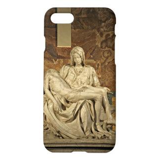 Michelangelos Pieta in St Peter Basilika iPhone 8/7 Hülle