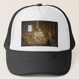 Michelangelos Pieta in St Peter Basilika Truckerkappe