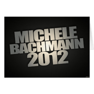 Michele Bachmann 2012 Karte