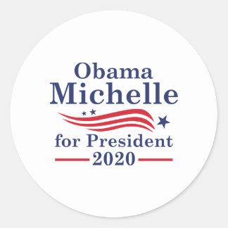 Michelle Obama 2020 Runder Aufkleber