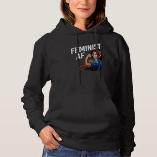 Michelle Obama - feministischer AF - Weiß -- Hoodie