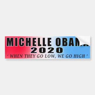 Michelle Obama im Jahre 2020!!! Autoaufkleber