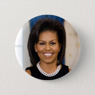 Michelle Obama Runder Button 5,1 Cm