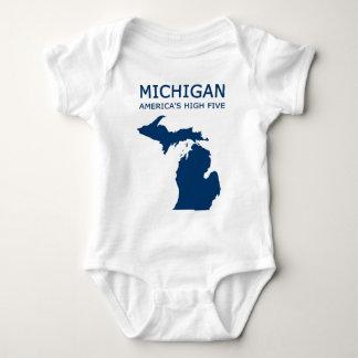 Michigan. Amerikas hohe fünf Baby Strampler