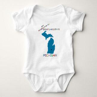 Michigan Baby Strampler