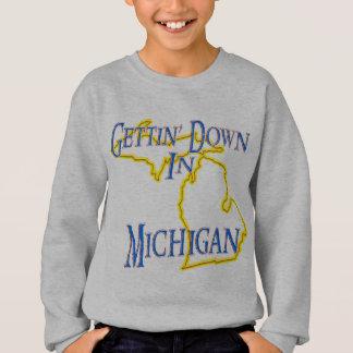 Michigan - Getting unten Sweatshirt