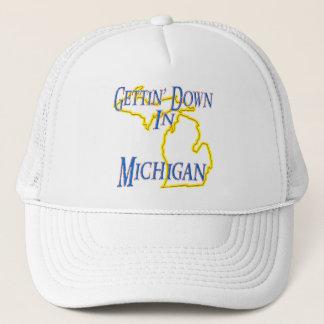 Michigan - Getting unten Truckerkappe