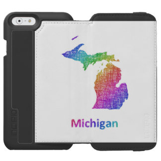 Michigan Incipio Watson™ iPhone 6 Geldbörsen Hülle