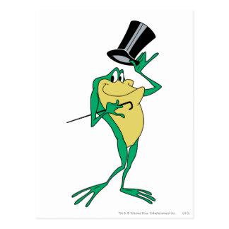 Michigan J. Frog in der Farbe Postkarte