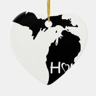 Michigan Keramik Ornament