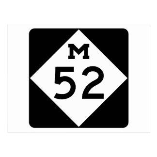 Michigan M-52 Postkarten