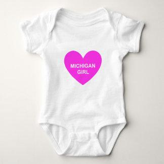 Michigan-Mädchen Baby Strampler