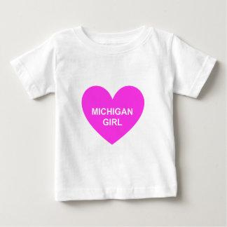 Michigan-Mädchen Baby T-shirt