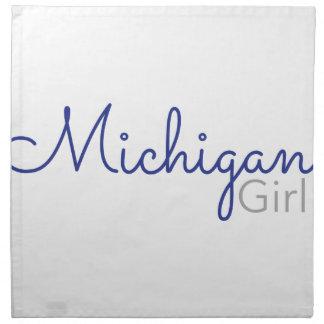 Michigan-Mädchen Stoffserviette