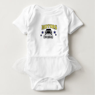 Michigan-Motoren Baby Strampler