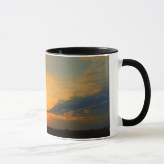 Michigan-Sonnenuntergang Tasse