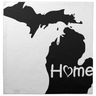 Michigan Stoffserviette
