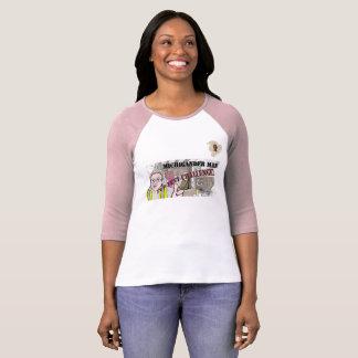 Michigander Mann-Welpen-Zelt-Herausforderung!!! T-Shirt