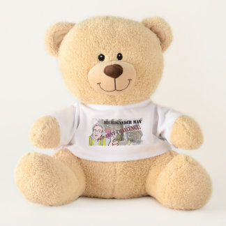 Michigander Mann-Welpen-Zelt-Herausforderung!!! Teddy