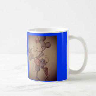 mickey u. minnie Schale Kaffeetasse