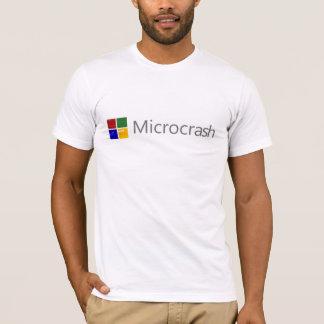 Microcrash Schirm des Todeslogos T-Shirt