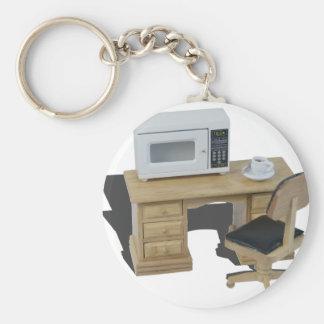MicrowaveCoffeeOnDesk082414 copy.png Standard Runder Schlüsselanhänger