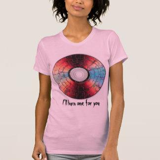 Microwaved-DVD, brenne ich ein für Sie T-Shirt